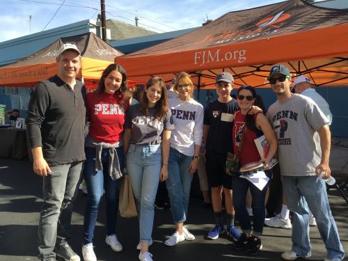 Penn Serves LA Thanksgiving dinner at Fred Jordan Missions