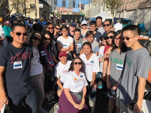 Penn Serves LA Thanksgiving Fred Jordan Mission