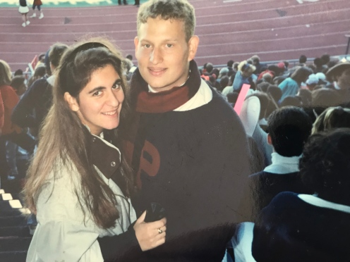 1993 Penn Couples #93tothe25th LovePenn Wilkinson
