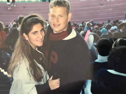 1993 Penn Couples #93tothe25th LovePenn Wilkinson