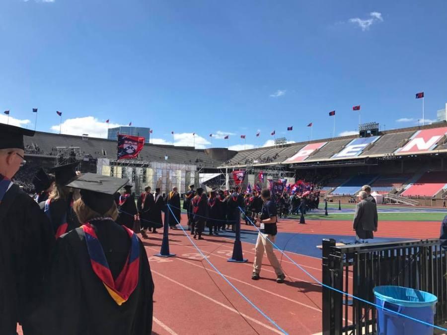 Penn Commencement 2017 Franklin Field