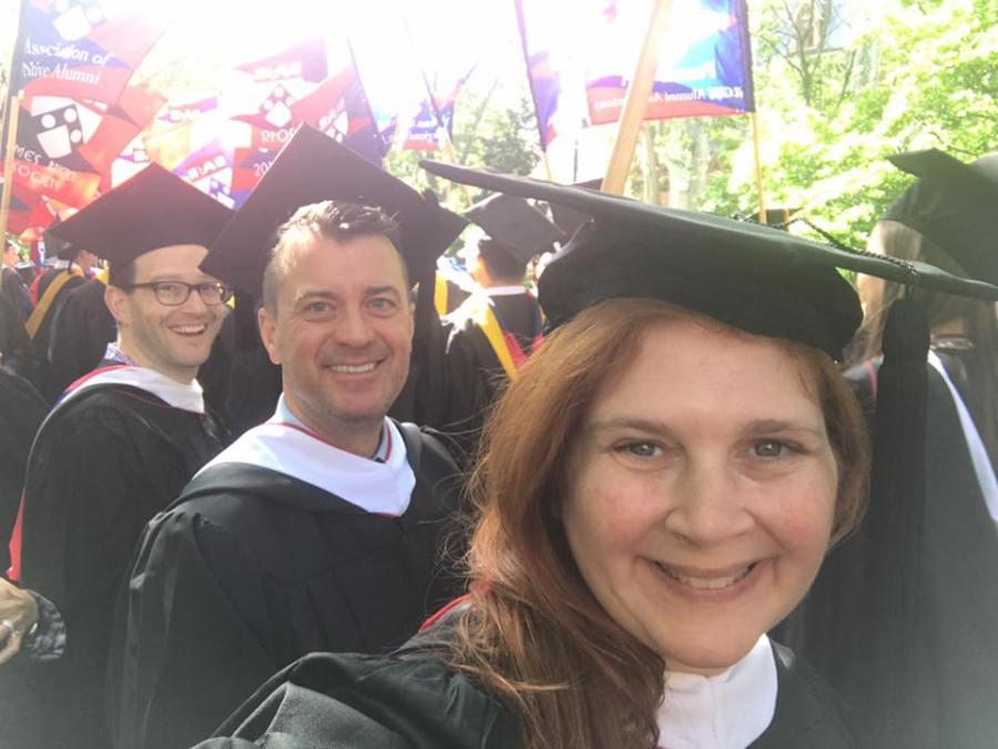 Penn Commencement 2017 Class of 1992
