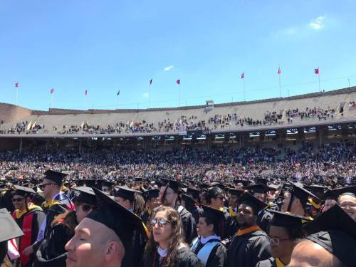 Penn Commencement in Franklin Field