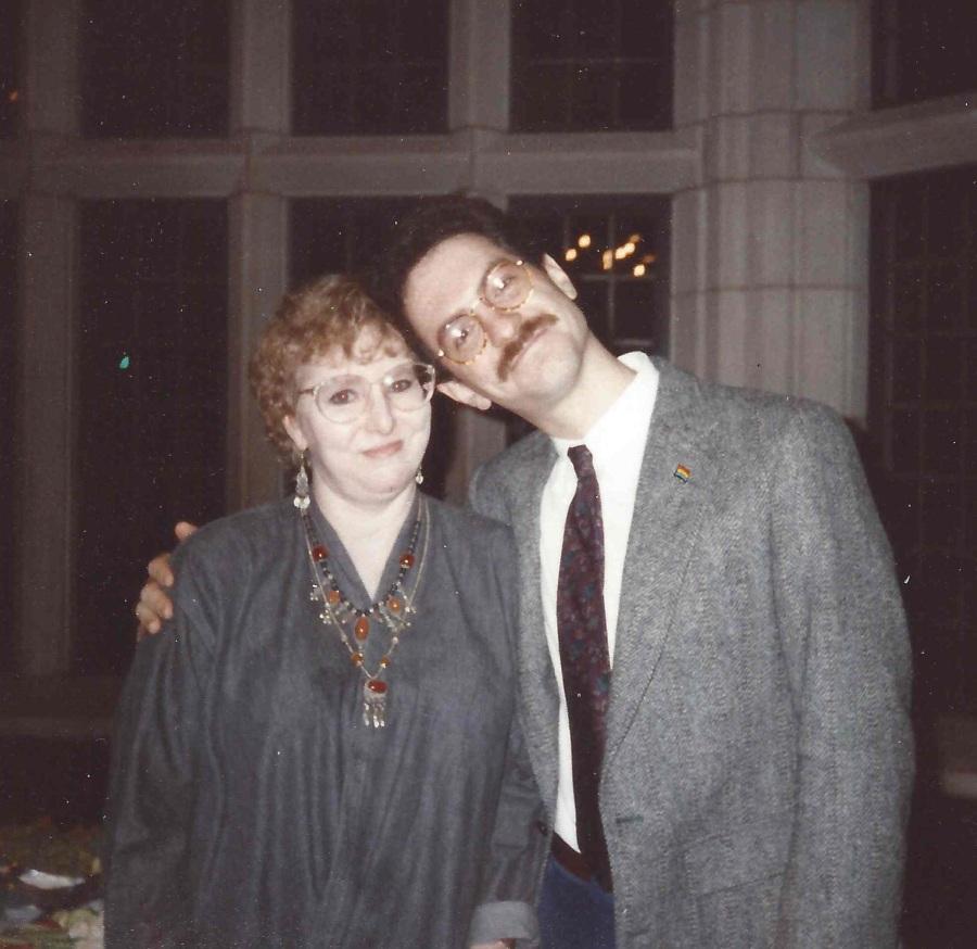 Lynn Moller and Albert Moore of Penn's OSL