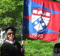 Penn Commencement 2008 Kiera Reilly