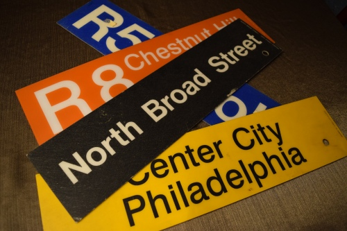 SEPTA signs #93tothe25th Philadelphia Penn education