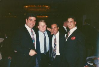 Penn Football Banquet 1993 #93tothe25th