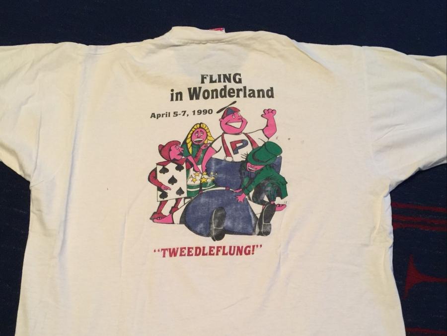 Penn Spring Fling t-shirt 1990