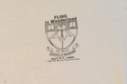 Penn Spring Fling 1990 t-shirt