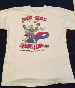 Penn Spring Fling t-shirt 1992