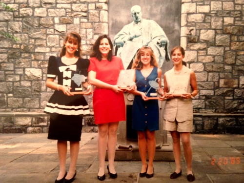 Class of 1993 Women's Senior Honor Award Winners