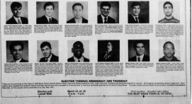 Nominees for the Penn Class of 1993 Senior Honor Awards