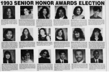 Penn Class of 1993 Senior Honor Awards in the DP
