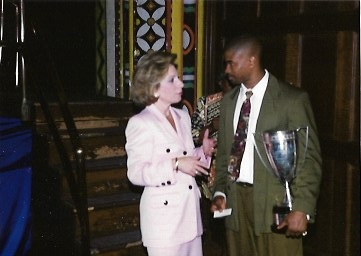 Maceo Grant Ivy Day 1993 Andrea Mitchell #93tothe25th