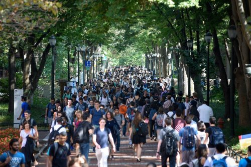 Locust Walk at Penn