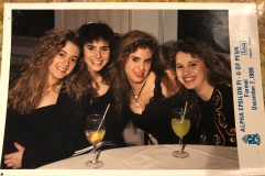 Sigma Delta Tau formal 1989 photo courtesy of Allison Feder Fliegler