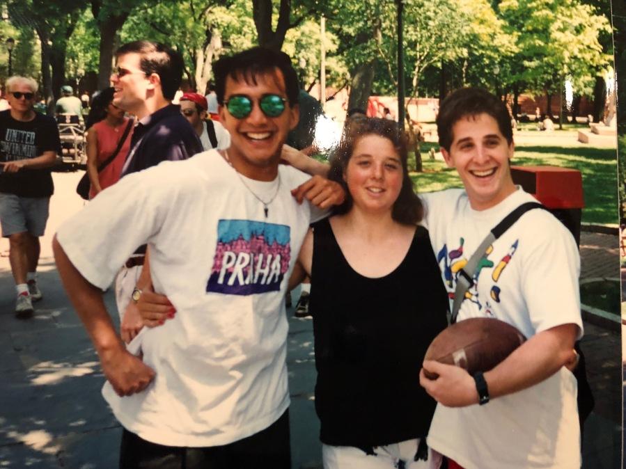 senior week penn 1993