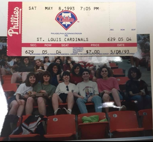 Penn 1993 Phillies game