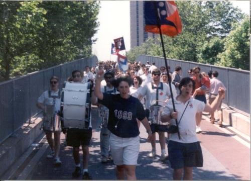 Penn Alumni Day 1993 Penn Band