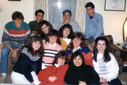Penn 1993 freshman hall-mates