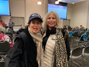 Penn Serves Volunteers bundled for the chilly night